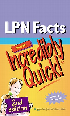 LPN Facts Made Incredibly Quick! By Lippincott Williams & Wilkins (COR)